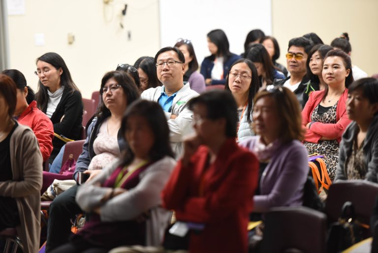 Parents at HYE Conference
